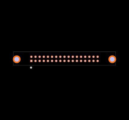 N3431-6302RB Footprint