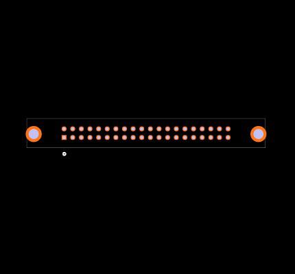 N3432-6302RB Footprint