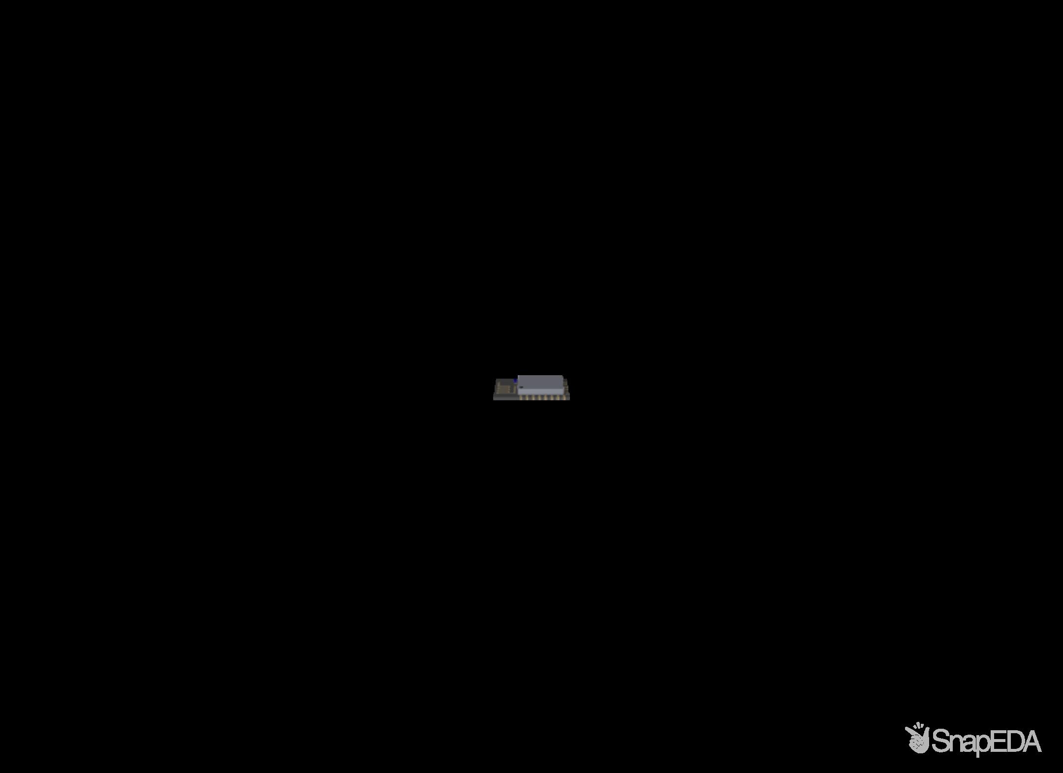 ESP8266-12E/ESP-12E 3D Model