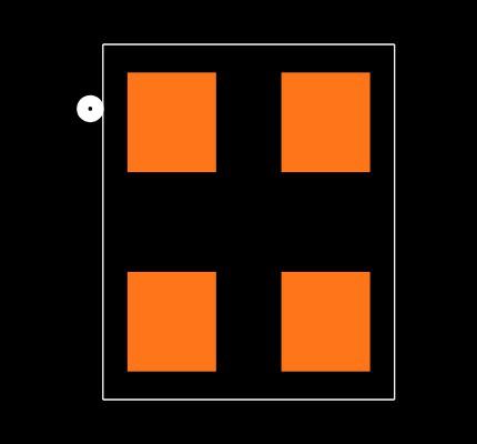 ABM8-22.1184MHZ-B2-T Footprint