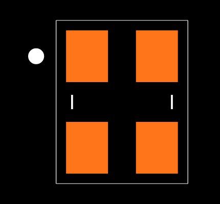 ABM8-29.4912MHZ-B2-T Footprint