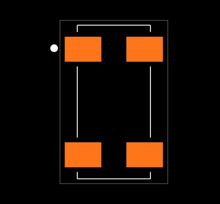 ABS25-32.768KHZ-6-T Footprint