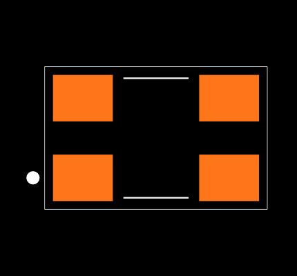 ABMM2-10.000MHZ-E2-T Footprint