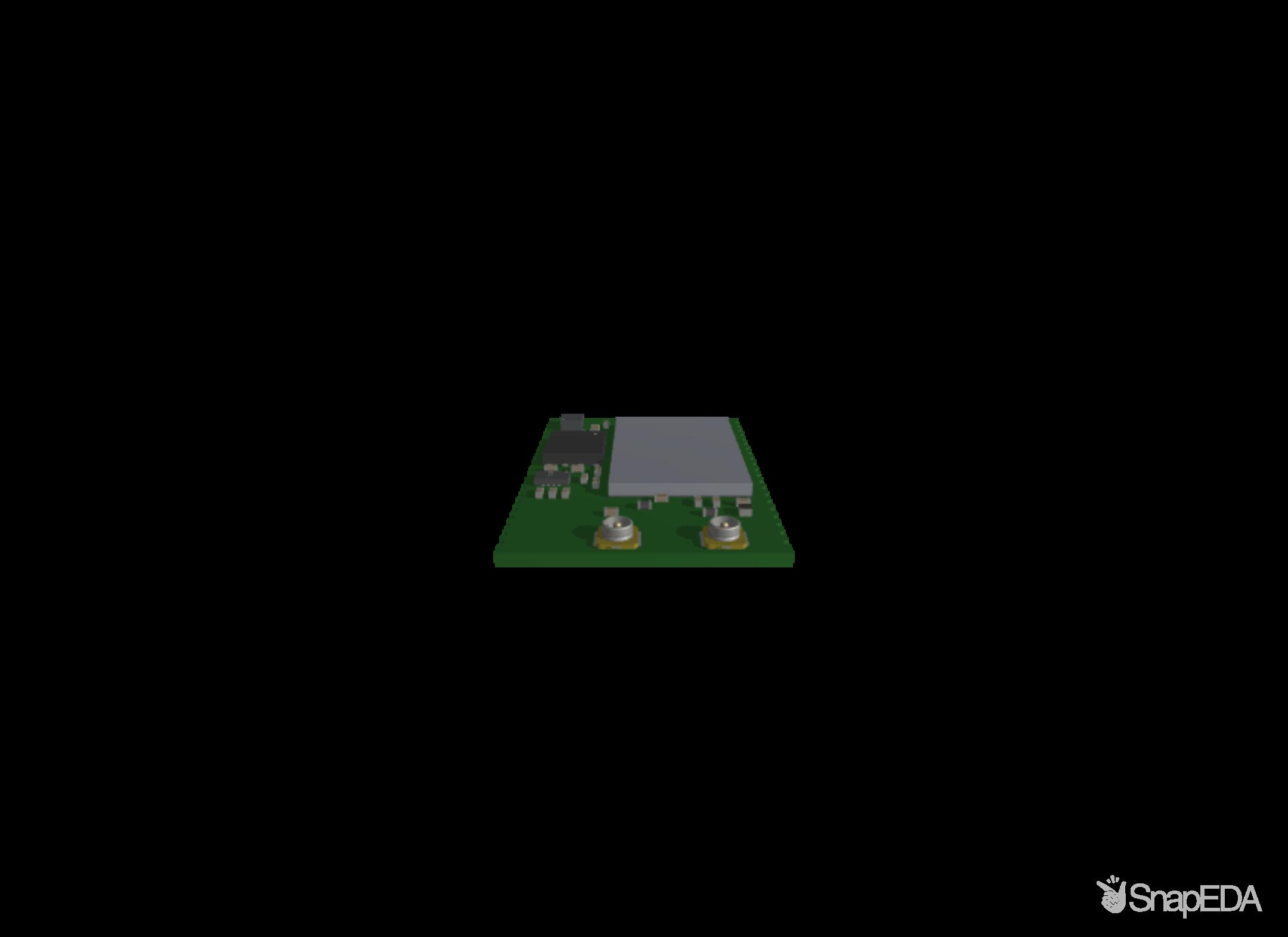 Icarus SOM 3D Model