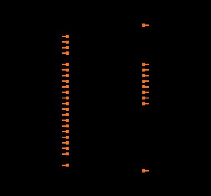 AS6C1008-55PCN Symbol