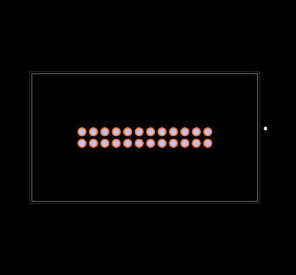 UC-31PFFP-QS8001 Footprint
