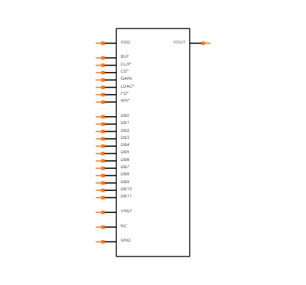 AD5340BRUZ Symbol