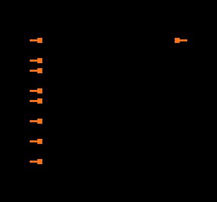 AD8000YCPZ-REEL7 Symbol