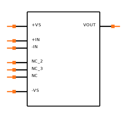AD820BRZ-REEL7 Symbol