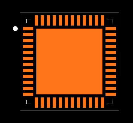 AD9253BCPZ-80 Footprint
