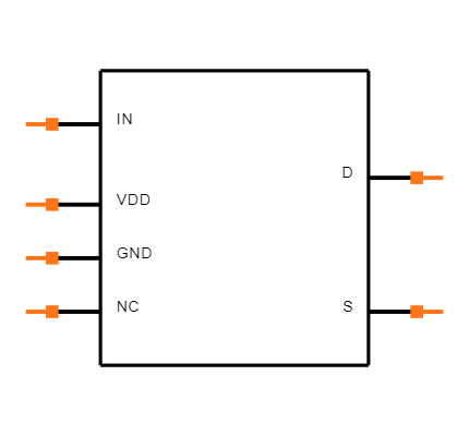 ADG802BRTZ-REEL7 Symbol