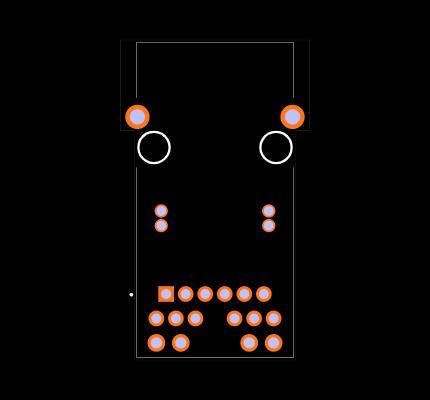 0826-1X1T-GH-F Footprint