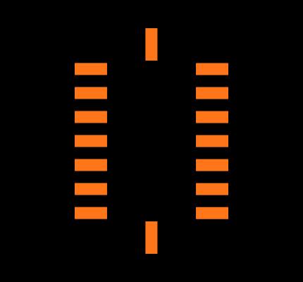 BMI055 Footprint