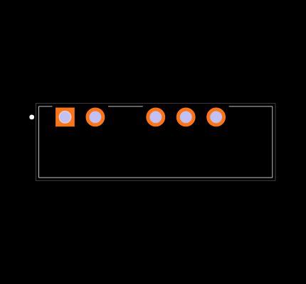 PDME1-S12-D3-S Footprint