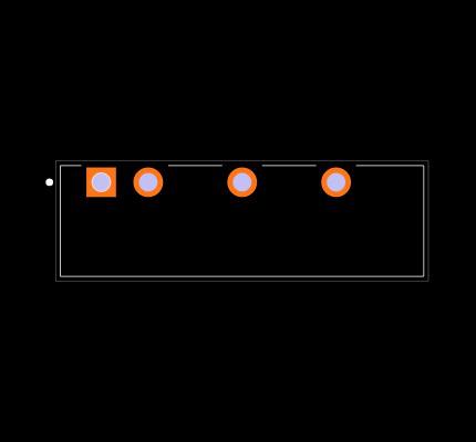 PDME1-S15-S9-S Footprint