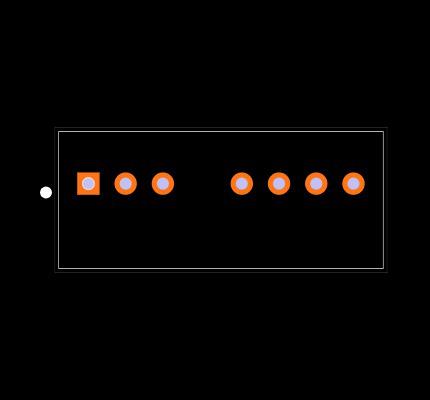 PDQ2-D12-D15-S Footprint