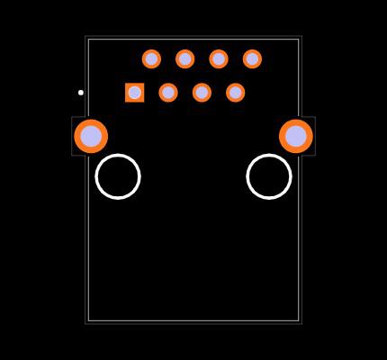 CRJ023-5-TH Footprint