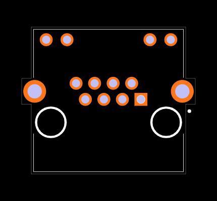 CRJ045-L3-TH Footprint