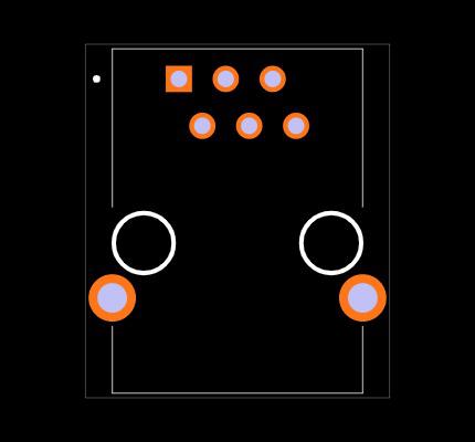 CRJ051-1-TH Footprint