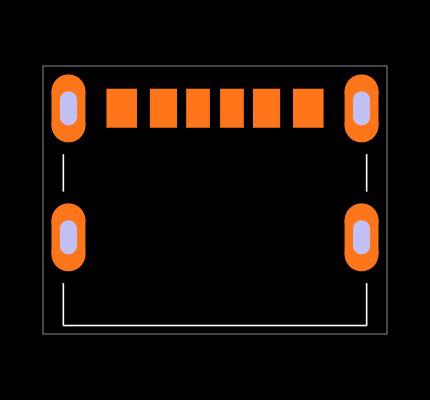 UJC-HP-3-SMT-TR Footprint