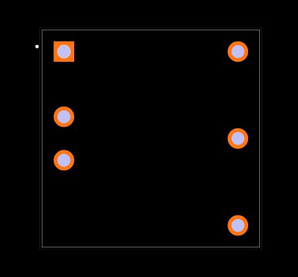 PQDE6W-Q110-D12-D Footprint