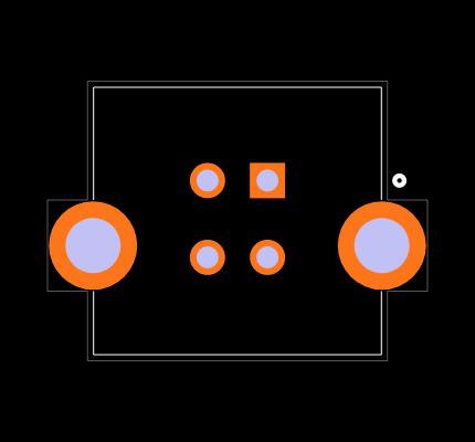 UJ2-BV-1-TH Footprint