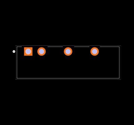VIBLSD1-S12-S5-SIP Footprint