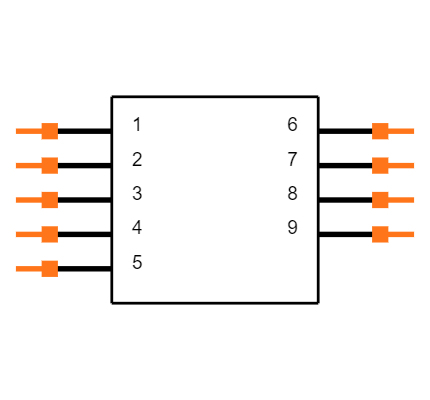 DCCM9PBSPN Symbol