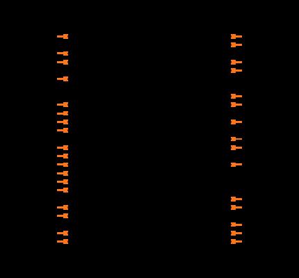 CS42L51-CNZ Symbol