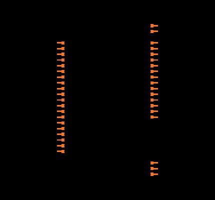 CS43L22-CNZ Symbol