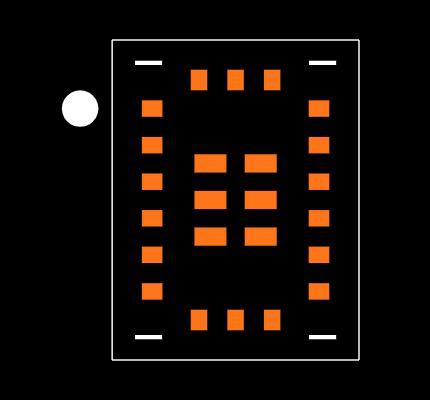 DA14531-00000FX2 Footprint