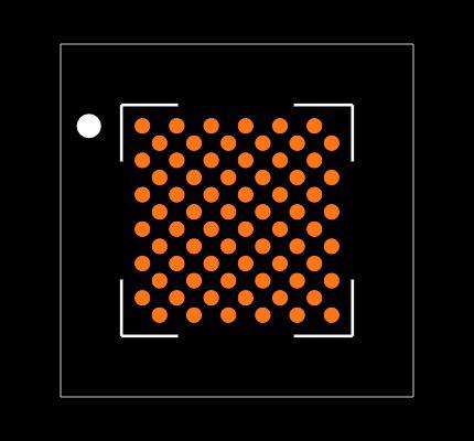DA16200-00000F22 Footprint
