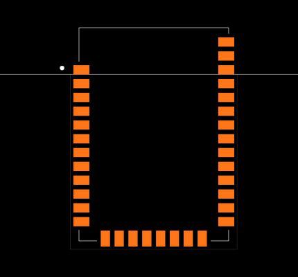 XB3-24Z8CM Footprint