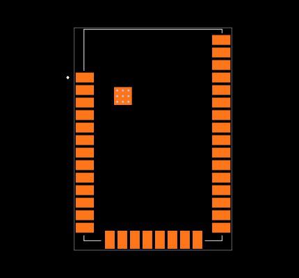 XBP9X-DMRS-001 Footprint