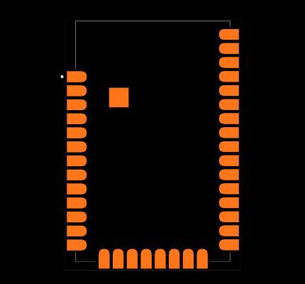 XBP9X-DMUS-001 Footprint