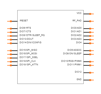 XBP9X-DMUS-001 Symbol