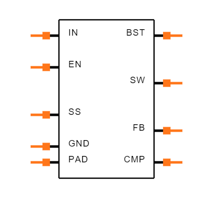 AP6503SP-13 Symbol