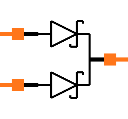BAS40-05-7-F Symbol