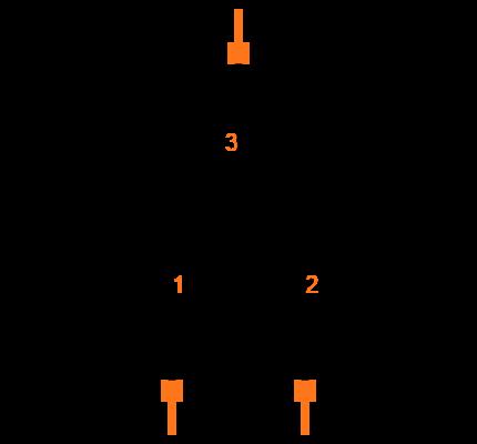 BAT54S-7-F Symbol