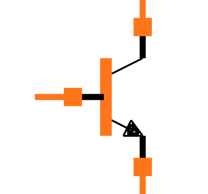 MMBT3904-7-F Symbol