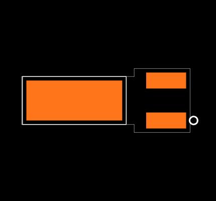 ECS-.327-12.5-13FLX-TR Footprint