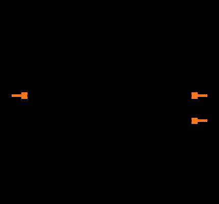 ECS-.327-12.5-34G-TR Symbol