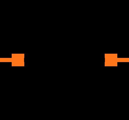 ECS-.327-12.5-34R-TR Symbol