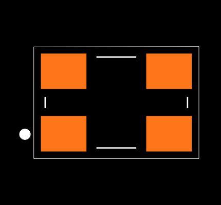 ECS-100-20-30B-TR Footprint