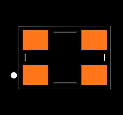 ECS-160-20-30B-DU Footprint