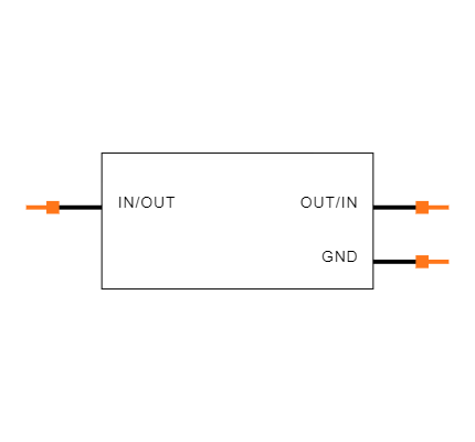ECS-160-8-33-JGN-TR Symbol