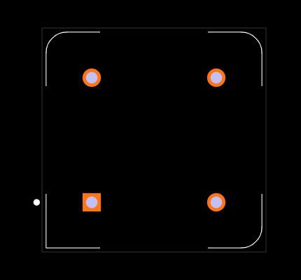 ECS-2100AX-200 Footprint