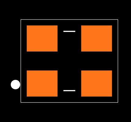 ECS-2333-120-BN-TR Footprint