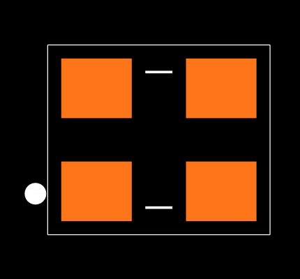 ECS-2333-160-BN-TR Footprint