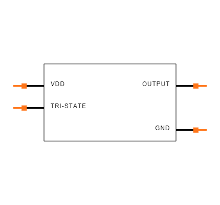 ECS-2333-160-BN-TR Symbol
